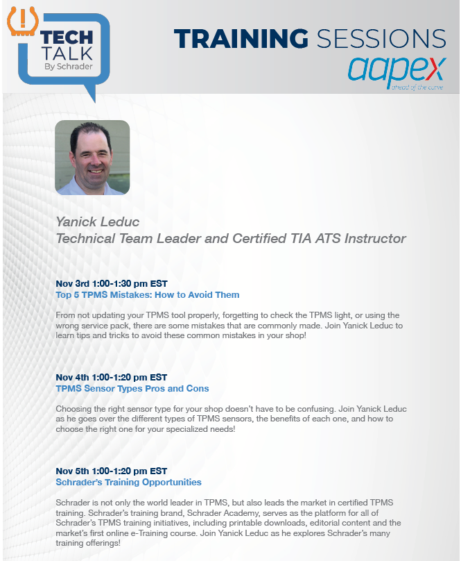 Virtual AAPEX Tech Talk Sessions