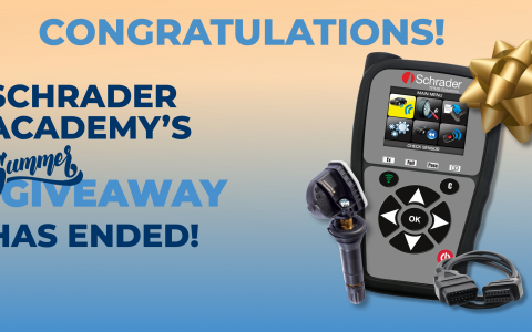 Schrader Announces Winners of TPMS Tool Bundle Giveaway